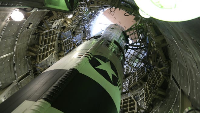 "The Titan missile from the film ""Command and Control."""