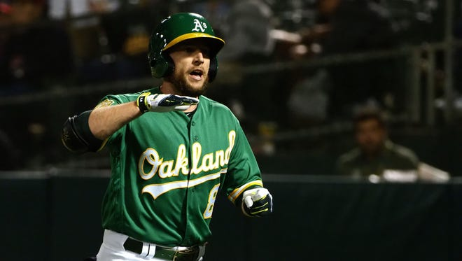 Jed Lowrie is the type of veteran the A's might have thought about trading in past Julys. This year, he's a likely All-Star and - maybe - sticking around a while.