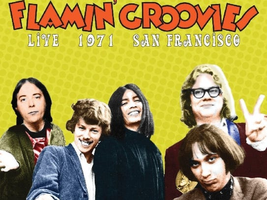 """Live 1971 San Francisco,"" Flamin' Groovies"