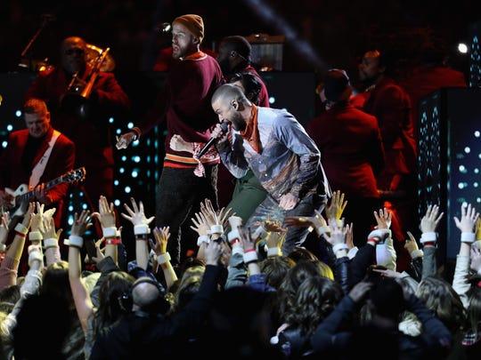 Justin Timberlake gave an electrifying performance