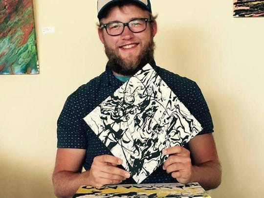 Artwork by new Sheboygan Visual Artist Jacob Phillips will be on display during a showcase from 6 to 10 p.m. on Friday, Sept. 25, at EBCO Artworks.