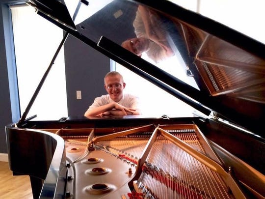 Lakeland College student Jacob Nault has been playing piano since he was a child.