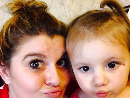 Kristy Irby and daughter Alley