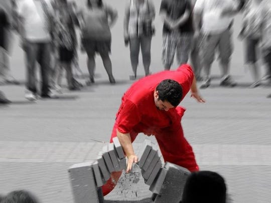 Tigers on the Red martial arts school will give demonstrations