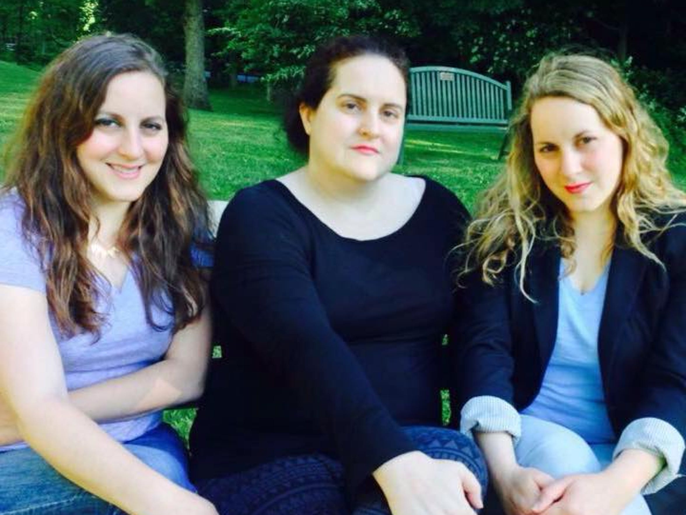 Cynthia (left), Heather (center) and Jennifer Flood