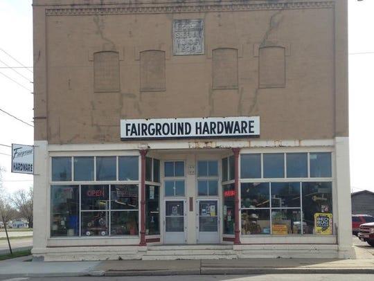Fairground Hardware on East Walnut Street will close