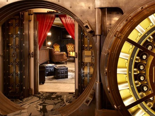 The Treasury, a potential music venue on York's Continental Square, would highlight the building's past -- including using the bank's vault as a special event space.