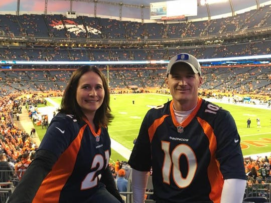 Hannah and Kelly  Nieskens are pictured at a Denver