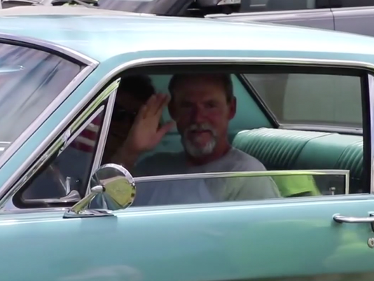 VIDEO THUMBNAIL - Sons buy Mustang for dad