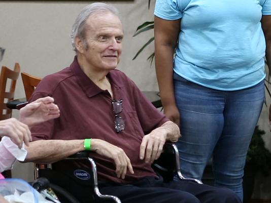 Senior citizens get help during hurricane