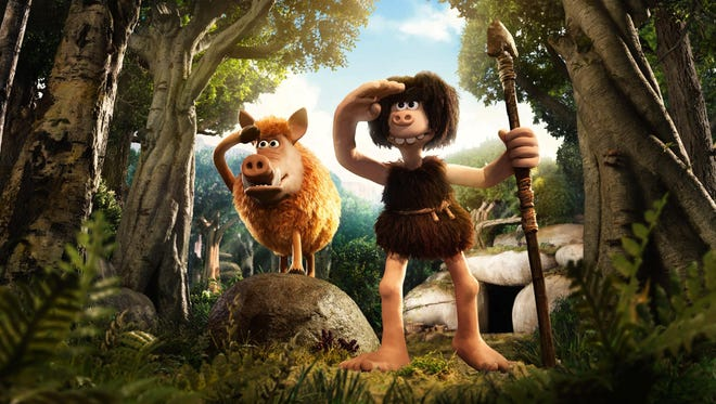 "The voice of Eddie Redmayne is featured in the comedy ""Early Man."""