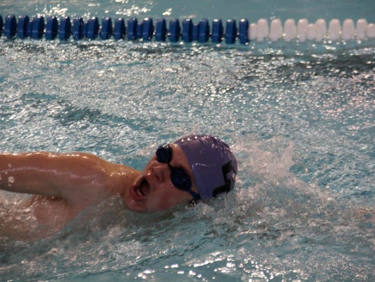Campbell Swimming Aims For State
