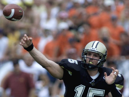 Drew Brees broke records under Joe Tiller.