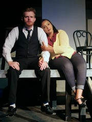 Daniel Cohoon as Jamie and Darrienne Lissette as Cathy