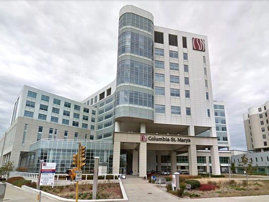 Columbia St. Mary's Hospital on Milwaukee's east side,
