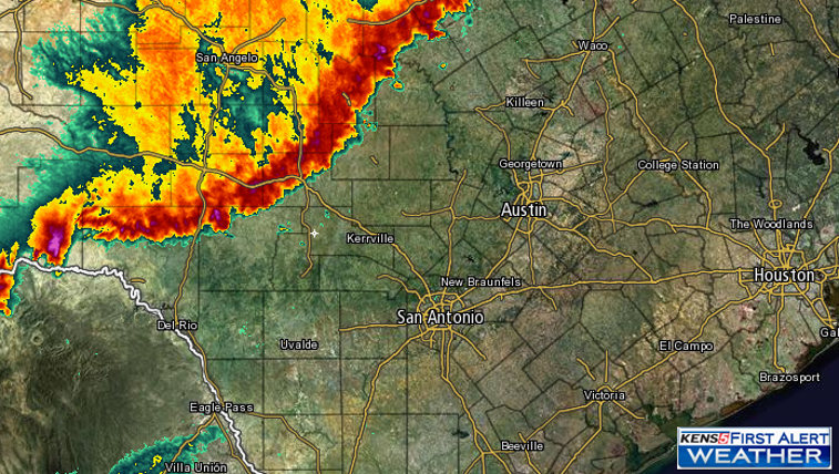 Radar at 10 p.m.