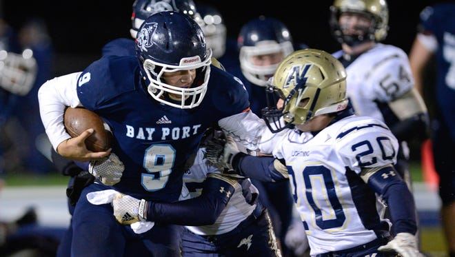 Bay Port quarterback Alec Ingold is the Preppie boys athlete of the year.