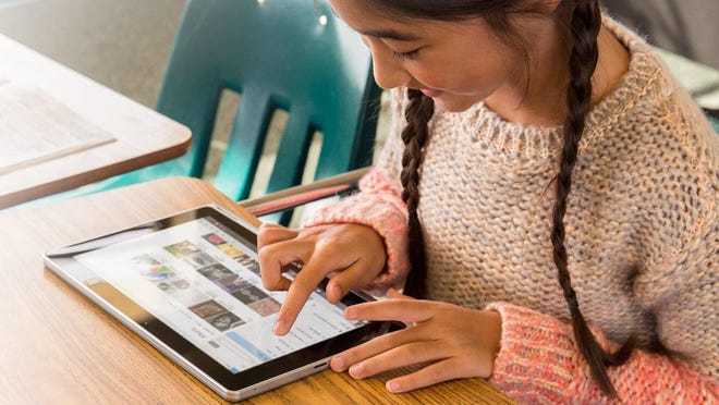 Windows 10 lets you add younger users as part of the Family Features option to help keep your kids safe online. They'll get their own email address.
