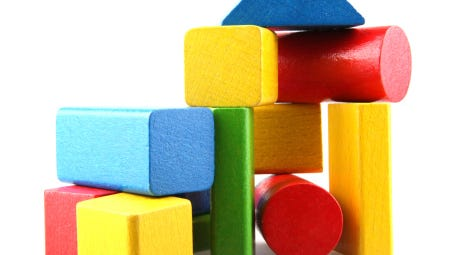 The Fendrick Library is hosting block parties for kids 3-6.