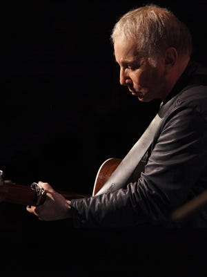 Paul Simon is scheduled to perform in Des Moines at the Civic Center on May 18.