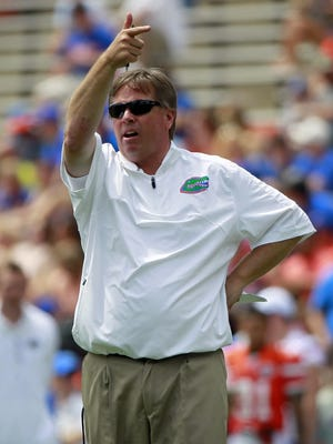 "Florida coach Jim McElwain said he has ""noting but great respect"" for Will Muschamp."