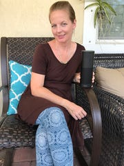 Tove Stakkestad, a 43-year-old blogger from Jupiter,