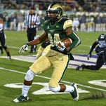 CSU sophomore wide receiver Xavier Williams (84) is one player set to have a breakout season in 2015.
