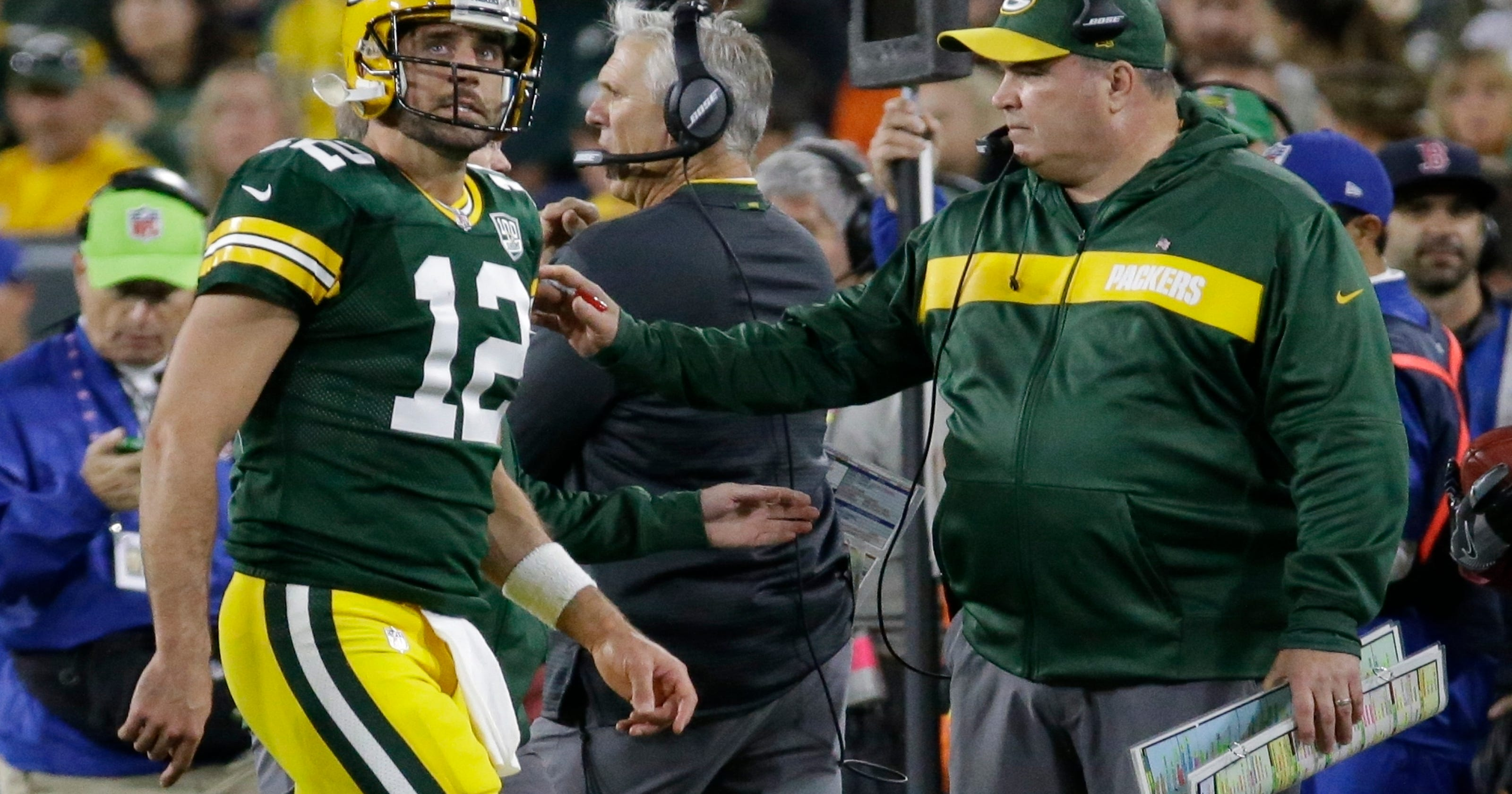 McCarthy  Packers QB Aaron Rodgers to get week to get ready e11260b08