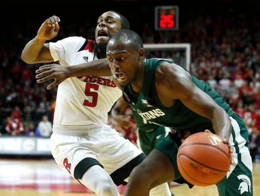 NCAA Basketball: Michigan State at Rutgers