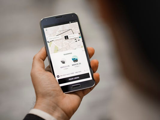 New Uber tipping app