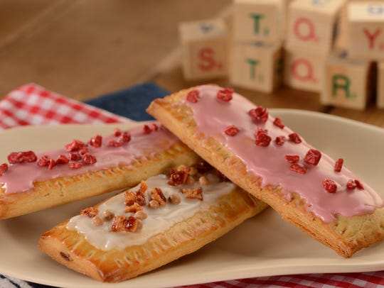 Lunch Box Tarts at Woddy's Lunchbox feature a raspberry