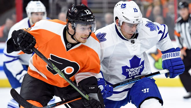 Michael Raffl and his Flyers teammates can miss the playoffs entirely if they're not careful in their last three games.