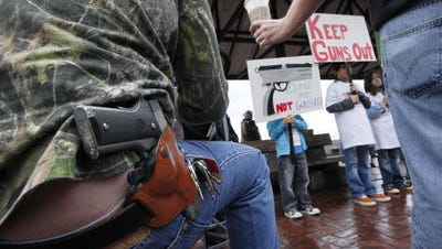 A proposal to let Tennesseans openly carry handguns without a permit failed to gain approval previously from House lawmakers.