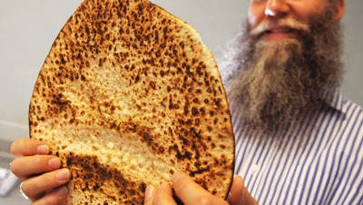 Rabbi Zvi Konikov says Chabad of the Space and Treasure Coast has handed out over 200 boxes of specially baked matzoh for the eight-day Passover festival.
