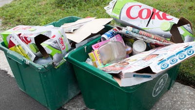 Pensacola residents'curbside recycling has been going to the Perdido Landfill since at least March.