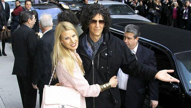 Howard Stern with wife Beth.