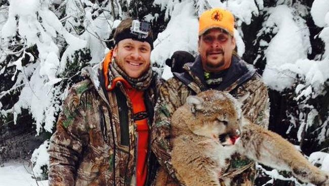 Kid Rock with mountain lion