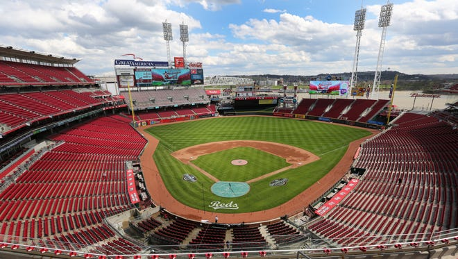 File photo of Great American Ball Park.