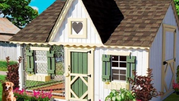 Doowaggle luxury dog house for $3,795.