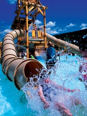 Camelbeach Mountain water park in Tannersville, PA.