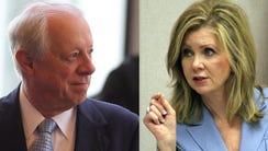 Former Gov. Phil Bredesen and U.S. Rep. Marsha Blackburn