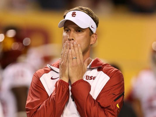 USC fires Kiffin after 7th loss in 11 games