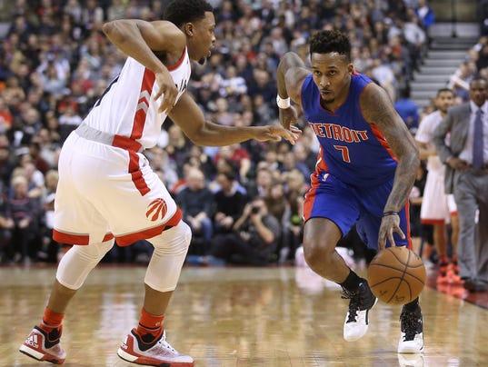 NBA: Detroit Pistons at Toronto Raptors