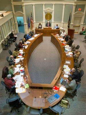 Tompkins County Legislature.