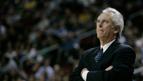 Bob Hill (coaching the Seattle SuperSonics in 2007)