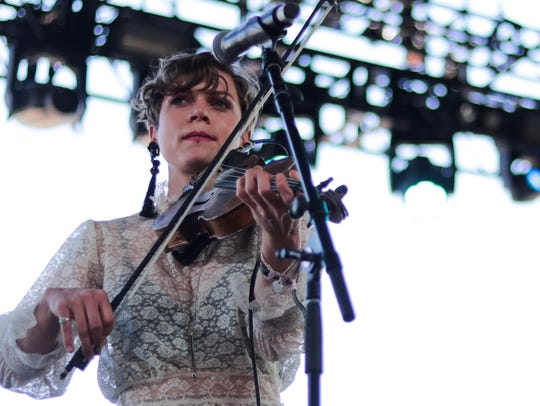 Apr 29, 2018; Indio, CA, USA; Lillie Mae performs on