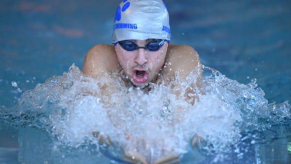 Passaic County boys and girls swimming tournament at