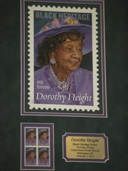 The Neptune Township Post Office hosts an unveiling for the Dorothy Height stamp. Height was a civil rights pioneer who lived from 1912-2010.  Neptune, NJ Wednesday, February 21, 2017. @dhoodhood