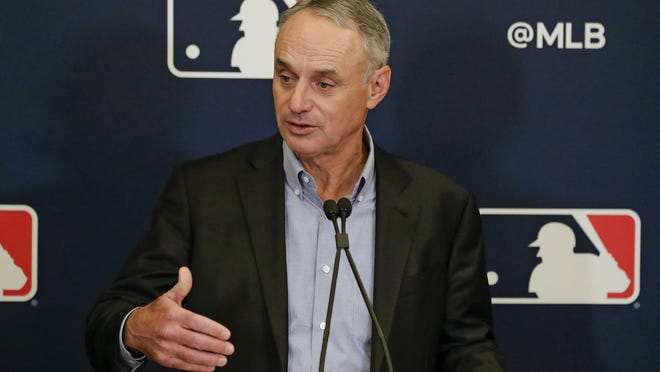 Major League Baseball Commissioner Rob Manfred's tone changed in less than a week, and now apparently he's not very optimistic a season can be salvaged.