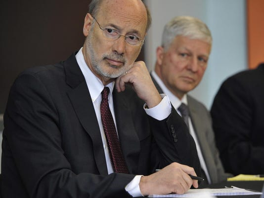 Pa Governor Opioid Roundtable